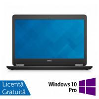 Laptop DELL Latitude E7450, Intel Core i5-5300U 2.30GHz, 8GB DDR3, 120GB SSD, 14 Inch Full HD, Webcam + Windows 10 Pro
