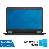 Laptop Dell Latitude E7450, Intel Core i7-5600U 2.60GHz, 8GB DDR3, 240GB SSD, 14 Inch Full HD LED, Webcam + Windows 10 Home, Refurbished Laptopuri Refurbished