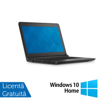 Laptop DELL Latitude 3350, Intel Core i5-5200U 2.20GHz, 4GB DDR3, 320GB SATA, Wireless, Bluetooth, Webcam, 13.3 Inch + Windows 10 Home