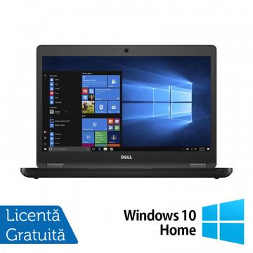 Laptop DELL Latitude 5480, Intel Core i5-7200U 2.50GHz, 8GB DDR4, 120GB SSD, 14 Inch, Webcam + Windows 10 Home, Refurbished Laptopuri Refurbished