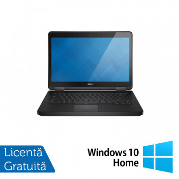 Laptop DELL Latitude E5440, Intel Core i5-4300U 1.90GHz, 4GB DDR3, 500GB SATA, DVD-RW, 14 Inch + Windows 10 Home, Refurbished Laptopuri Refurbished