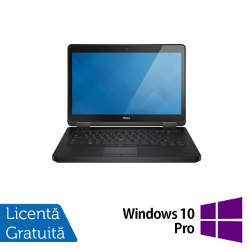 Laptop DELL Latitude E5440, Intel Core i5-4300U 1.90GHz, 4GB DDR3, 500GB SATA, DVD-RW, 14 Inch + Windows 10 Pro, Refurbished Laptopuri Refurbished