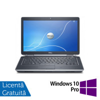 Laptop DELL Latitude E6430, Intel Core i5-3230M 2.60GHz, 8GB DDR3, 480GB SSD, DVD-RW, Fara Webcam, 14 Inch + Windows 10 Pro