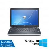 Laptop DELL Latitude E6430, Intel Core i7-3520QM 2.90GHz, 4GB DDR3, 320GB SATA, DVD-RW, 14 Inch + Windows 10 Home, Refurbished Laptopuri Refurbished