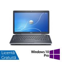 Laptop DELL Latitude E6430, Intel Core i7-3520QM 2.90GHz, 4GB DDR3, 320GB SATA, DVD-RW, 14 Inch + Windows 10 Pro