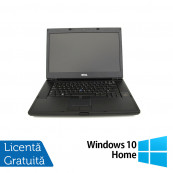 Laptop DELL Latitude E6500, Intel Core 2 Duo T9400 2.53GHz, 4GB DDR2, 160GB SATA, DVD-RW, 15 Inch + Windows 10 Home, Refurbished Laptopuri Refurbished