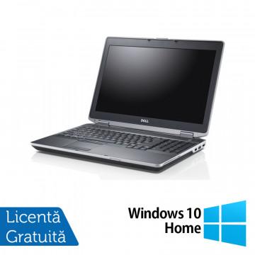 Laptop DELL Latitude E6530, Intel Core i7-3540M 3.00GHz, 4GB DDR3, 320GB SATA, DVD-RW, 15 Inch + Windows 10 Home, Refurbished Laptopuri Refurbished