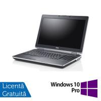 Laptop DELL Latitude E6530, Intel Core i7-3540M 3.00GHz, 4GB DDR3, 320GB SATA, DVD-RW, 15 Inch + Windows 10 Pro