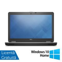 Laptop DELL Latitude E6540, Intel Core i5-4300M 2.60GHz, 4GB DDR3, 500GB SATA, DVD-RW, 15.6 Inch Full HD, Webcam, Tastatura Numerica + Windows 10 Home