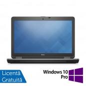Laptop DELL Latitude E6540, Intel Core i5-4300M 2.60GHz, 4GB DDR3, 500GB SATA, DVD-RW, 15.6 Inch Full HD, Webcam, Tastatura Numerica + Windows 10 Pro, Refurbished Laptopuri Refurbished