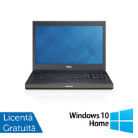 Laptop Dell Precision M4800, Intel Core i5-4200M 2.50GHz, 8GB DDR3, 240GB SSD, Tastatura Numerica, 15.6 Inch + Windows 10 Home