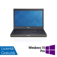 Laptop Dell Precision M4800, Intel Core i7-4810MQ 2.80GHz, 8GB DDR3, 240GB SSD, Tastatura Numerica, 15.6 Inch + Windows 10 Pro