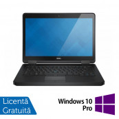 Laptop DELL Latitude E5440, Intel Core i5-4300U 1.90GHz, 8GB DDR3, 500GB SATA, 14 Inch, DVD-RW + Windows 10 Pro, Refurbished Laptopuri Refurbished
