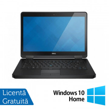 Laptop Refurbished DELL Latitude E5440, Intel Core i5-4300U 1.90GHz, 4GB DDR3, 120GB SSD, DVD-RW, 14 Inch + Windows 10 Home, Second Hand Laptopuri Refurbished