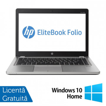 Laptop Refurbished HP EliteBook Folio 9470M, Intel Core i5-3337U 1.80GHz, 8GB DDR3, 120GB SSD, Webcam, 14 Inch + Windows 10 Home Laptopuri Refurbished