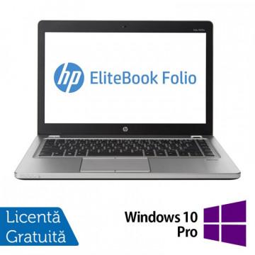 Laptop Refurbished HP EliteBook Folio 9470M, Intel Core i5-3337U 1.80GHz, 8GB DDR3, 120GB SSD, Webcam, 14 Inch + Windows 10 Pro Laptopuri Refurbished
