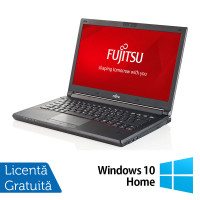 Laptop FUJITSU SIEMENS Lifebook E544, Intel Core i3-4000M 2.40GHz, 16GB DDR3, 500GB HDD, 14 Inch + Windows 10 Home
