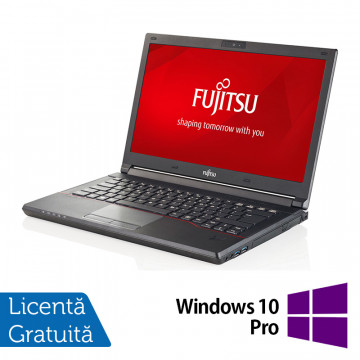 Laptop FUJITSU SIEMENS Lifebook E544, Intel Core i3-4000M 2.40GHz, 16GB DDR3, 500GB HDD, 14 Inch + Windows 10 Pro, Refurbished Laptopuri Refurbished