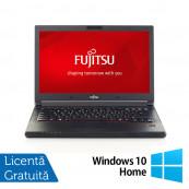 Laptop Fujitsu Siemens LifeBook E554, Intel Core i3-4000M 2.40GHz, 8GB DDR3, 320GB SATA, 15.6 Inch + Windows 10 Home, Refurbished Laptopuri Refurbished