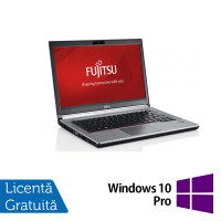 Laptop FUJITSU SIEMENS E734, Intel Core i5-4200M 2.50GHz, 8GB DDR3, 120GB SSD, 13.2 Inch + Windows 10 Pro