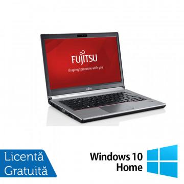 Laptop FUJITSU SIEMENS E734, Intel Core i5-4200M 2.50GHz, 8GB DDR3, 120GB SSD, 13.3 Inch, Fara Webcam + Windows 10 Home, Refurbished Intel Core i5