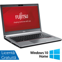 Laptop FUJITSU SIEMENS E734, Intel Core i3-4000M 2.40GHz, 8GB DDR3, 120GB SSD, 13.3 inch + Windows 10 Home