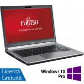 Laptop FUJITSU SIEMENS E734, Intel Core i3-4000M 2.40GHz, 8GB DDR3, 120GB SSD, 13.3 inch + Windows 10 Pro, Refurbished Laptopuri Refurbished