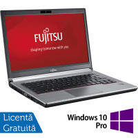 Laptop FUJITSU SIEMENS E734, Intel Core i3-4000M 2.40GHz, 8GB DDR3, 120GB SSD, 13.3 inch + Windows 10 Pro