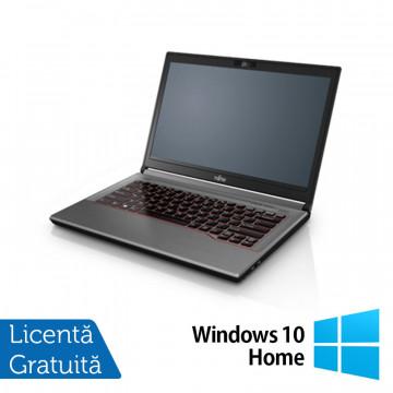 Laptop Fujitsu Lifebook E744, Intel Core i5-4200M 2.50GHz, 8GB DDR3, 120GB SSD, DVD-RW, Fara Webcam, 14 Inch + Windows 10 Home, Refurbished Laptopuri Refurbished
