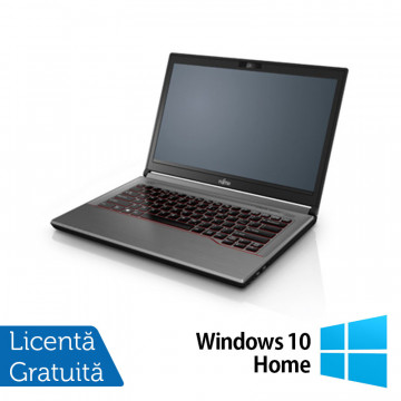 Laptop Fujitsu Lifebook E744, Intel Core i5-4200M 2.50GHz, 8GB DDR3, 240GB SSD, 14 Inch, DVD-RW + Windows 10 Home, Refurbished Laptopuri Refurbished