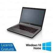 Laptop Fujitsu Lifebook E744, Intel Core i5-4210M 2.60GHz, 8GB DDR3, 120GB SSD, 14 Inch, DVD-RW + Windows 10 Home, Refurbished Laptopuri Refurbished