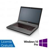 Laptop Fujitsu Lifebook E744, Intel Core i5-4210M 2.60GHz, 8GB DDR3, 120GB SSD, 14 Inch, DVD-RW + Windows 10 Pro, Refurbished Laptopuri Refurbished