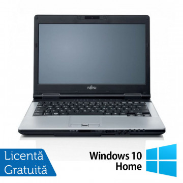 Laptop FUJITSU SIEMENS S751, Intel Core i7-2620M 2.70GHz, 4GB DDR3, 120GB SSD, DVD-RW, Webcam, 14 Inch + Windows 10 Home, Refurbished Laptopuri Refurbished