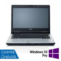 Laptop FUJITSU SIEMENS S751, Intel Core i7-2620M 2.70GHz, 4GB DDR3, 120GB SSD, DVD-RW, Webcam, 14 Inch + Windows 10 Pro