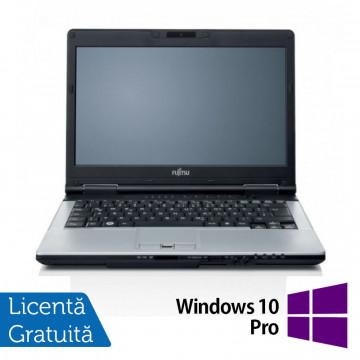 Laptop FUJITSU SIEMENS S751, Intel Core i7-2620M 2.70GHz, 4GB DDR3, 120GB SSD, DVD-RW, Webcam, 14 Inch + Windows 10 Pro, Refurbished Laptopuri Refurbished