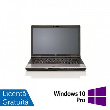 Laptop FUJITSU SIEMENS E752, Intel Core i5-3210M 2.50GHz, 4GB DDR3, 120GB SSD, DVD-RW, 15.6 Inch, Fara Webcam + Windows 10 Pro, Refurbished Laptopuri Refurbished
