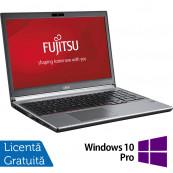 Laptop FUJITSU SIEMENS Lifebook E753, Intel Core i5-3230M 2.60GHz, 8GB DDR3, 120GB SSD, DVD-RW, 15.6 Inch, Tastatura Numerica, Fara Webcam + Windows 10 Pro, Refurbished Laptopuri Refurbished