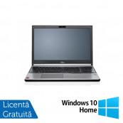 Laptop FUJITSU SIEMENS Lifebook E754, Intel Core i5-4200M 2.50GHz, 4GB DDR3, 120GB SSD, DVD-RW, 15.6 Inch, Tastatura Numerica, Fara Webcam + Windows 10 Home, Refurbished Laptopuri Refurbished
