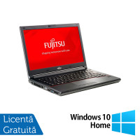 Laptop Fujitsu Lifebook E746, Intel Core i3-6100U 2.30GHz, 8GB DDR4, 240GB SSD, 14 Inch, Webcam + Windows 10 Home
