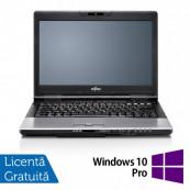 Laptop FUJITSU SIEMENS S752, Intel Core i5-3210M 2.50GHz, 8GB DDR3, 500GB SATA, DVD-ROM, 14 Inch + Windows 10 Pro, Refurbished Laptopuri Refurbished