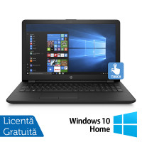Laptop Nou HP 15-BS289WM, Intel Pentium Silver N5000 1.10GHz, 4GB DDR4, 1TB HDD, 15.6 Inch Touchscreen LED + Windows 10 Home