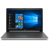 Laptop Nou HP 17-BY0062ST, Intel Core i5-8250U 1.60GHz, 8GB DDR4, 1TB SATA, Intel UHD Graphics 620, Card Reader, DVD-Writer, 17.6 Inch HD+ BrightView Display, Webcam HD