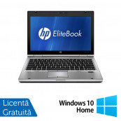 Laptop HP EliteBook 2560p, Intel Core i5-2450M 2.50GHz, 4GB DDR3, 320GB SATA, 12 Inch + Windows 10 Home, Refurbished Laptopuri Refurbished