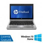 Laptop HP EliteBook 2560p, Intel Core i5-2450M 2.50GHz, 8GB DDR3, 320GB SATA, DVD-RW, 12 Inch + Windows 10 Home, Refurbished Laptopuri Refurbished