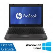 Laptop HP ProBook 6360B, Intel Core i5-2410M 2.30GHz, 4GB DDR3, 320GB SATA, DVD-RW, 13 Inch + Windows 10 Home, Refurbished Laptopuri Refurbished