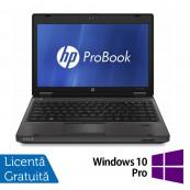 Laptop HP ProBook 6360B, Intel Core i5-2410M 2.30GHz, 4GB DDR3, 320GB SATA, DVD-RW, 13 Inch + Windows 10 Pro, Refurbished Laptopuri Refurbished