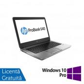 Laptop HP EliteBook 640 G1, Intel Core i5-4300M 2.60GHz, 8GB DDR3, 120GB SSD, Webcam, 14 inch, DVD-RW + Windows 10 Pro, Refurbished Laptopuri Refurbished