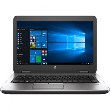 Laptop HP ProBook 640 G2, Intel Core i5-6200U 2.30GHz, 8GB DDR4, 120GB SSD, DVD-RW, Webcam, 14 Inch, Second Hand Laptopuri Second Hand