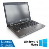 Laptop HP ProBook 6465b, AMD A4-3310MX 2.10GHz, 4GB DDR3, 320GB SATA, DVD-RW + Windows 10 Home, Refurbished AMD