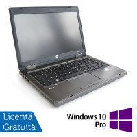 Laptop HP ProBook 6465b, AMD A4-3310MX 2.10GHz, 4GB DDR3, 320GB SATA, DVD-RW + Windows 10 Pro